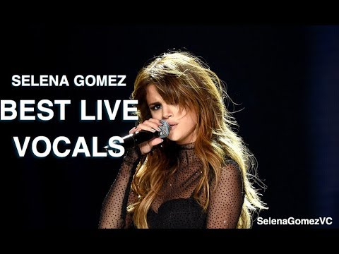 Selena Gomez Best Live Vocal Moments!