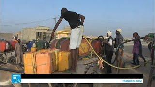 أحياء العاصمة الموريتانية بين شبح العطش وشبح الغرق!!