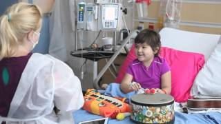 Music Therapist Brightens Cancer Patient's Day