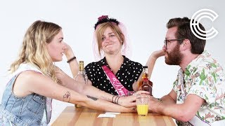 Truth or Drink Bridesmaids | Brittany, Courtney & Timothy | Truth or Drink | Cut