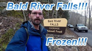 Bald River Falls Frozen!!! You want see another video like this!!!