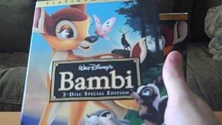 2 Different DVD Versions of Bambi