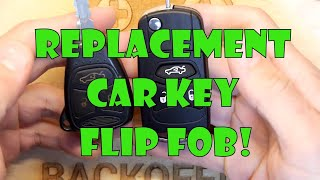 TDL- Replacement Car Key Flip Fob