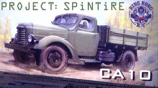 """RC ADVENTURES - Project: """"SPiNTiRE"""" 4x2 Dually Tractor Truck """"CA10"""" Kit Unboxing - KiNG KONG RC"""