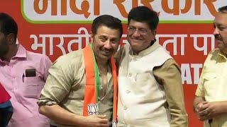 Sunny Deol joins BJP, may contest LS polls from Punjab's Gurdaspur