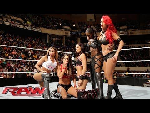 Xxx Mp4 The Bella Twins Funkadactyls Eva Marie Vs Aksana Rosa Mendes Summer Rae Alicia Fox Kaitlyn 3gp Sex