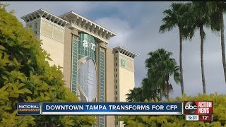 Downtown Tampa transforms for CFP