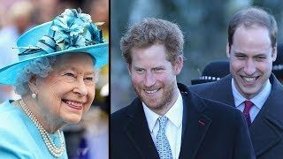 After The Queen Asked For Help With Her Phone, William And Harry P.u.l.led Off An Epic Pra-nk