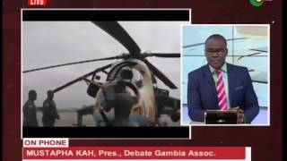 Yahya Jammeh  Alleged to have left the Gambia -18/1/2017