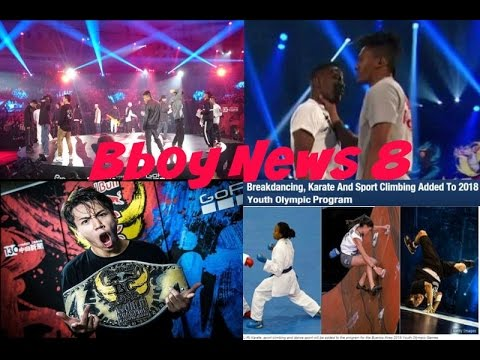 Bboy News 8: Neguin disqualification?, Storm problems, Issei wins, Bboying at Olympics