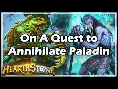 Xxx Mp4 Hearthstone On A Quest To Annihilate Paladin 3gp Sex