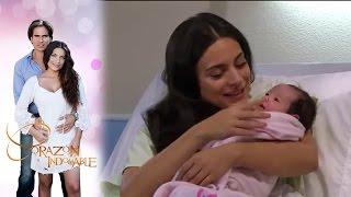 ¡Maricruz da a luz!   Corazón indomable - Televisa