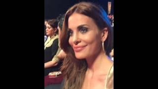 Dominique with Salman Khan / دومينيك حوراني مع نجم بوليوود سلمان خان