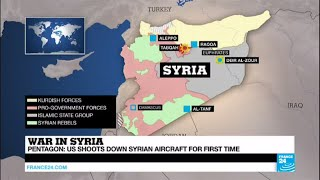 Syria: Why the sudden escalation after US shoots down a Syrian aircraft?