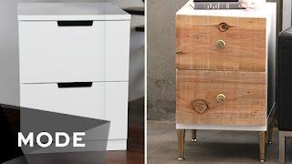 DIY Dress Up Your Dresser | Right at Home ★ Glam.com