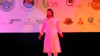 Kathak Recital by Shri Akshaya Kumar teachar in Jawaharlal Nehru Center Moscow