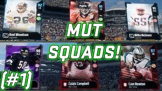 MUT Squads! Gameplay and Tips! (#1) Madden NFL 18 Ultimate Team