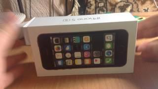 Обзор на мой новый айфон 5s ????