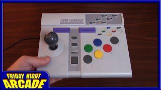 Super Nintendo Advantage Controller Restoration & Review | Friday Night Arcade