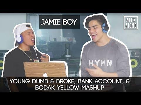 Young Dumb & Broke, Bank Account, & Bodak Yellow Mashup | Alex Aiono MASHUP FT JamieBoy