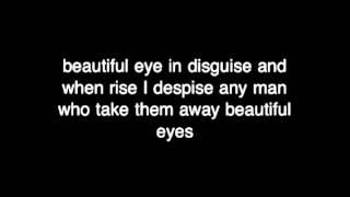 Beautiful eye lyrics by the naked brothers band