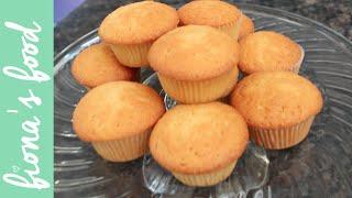 Really Simple Vanilla Cupcakes | fiona