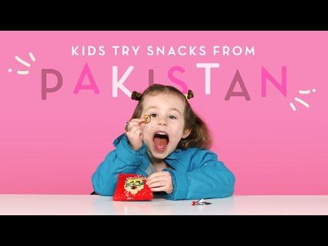 Xxx Mp4 Kids Try Pakistani Snacks Kids Try HiHo Kids 3gp Sex