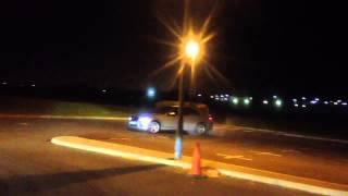 Drifting Mercedes c320 cdi