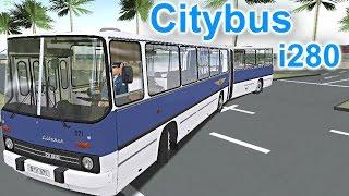 OMSI 2 - Citybus Ikarus 280 Series Gameplay! 4K