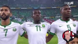 السعودية - الامارات تصفيات كاس العالم 2018 نـشيد المنتخبـين HD