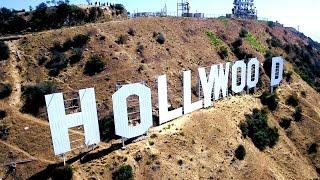 HOLLYWOOD SIGN 😎⭐️🎥   Phantom 4 4K Drone Video