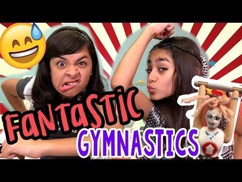 Fantastic Gymnastics Game CHALLENGES GEM Sisters
