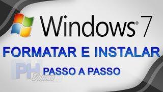 Como formatar o computador e instalar Windows 7 - DO INÍCIO AO FIM (Atualizado)