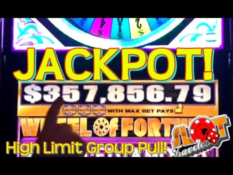 100 GOING FOR 357 856.79 ★ HIGH LIMIT Group JACKPOT ★ SlotTraveler