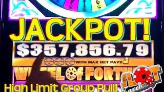$100 GOING FOR $357,856.79 ★ HIGH LIMIT Group JACKPOT  ★ | SlotTraveler
