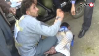 """حصريًا:تمثيل جريمة قتل سائق توك توك بلقاس وإلقاؤه في بحر """"العاصية"""" بنبروه"""