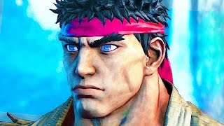 Street Fighter 5 All Cutscenes Full Movie Story Mode (Including Character Story)