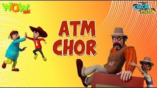 ATM Chor - Chacha Bhatija - Wowkidz - 3D Animation Cartoon for Kids| As seen on Hungama TV