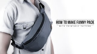 How to Make Fanny Pack