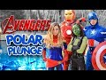 2019 POLAR PLUNGE Superhero Avengers Endgame   Brooklyn & Bailey