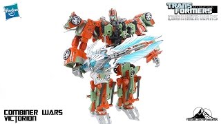 Transformers Combiner Wars VICTORION Video Review