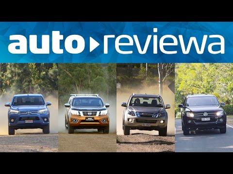 2016 Dual Cab Ute Comparison: Hilux, Navara, D-MAX, Amarok - Australia