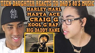 Teen Daughter Reacts To Dad's 80's Hip Hop Rap Music | Marley Marl - The Symphony