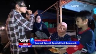 Jajanan Tradisional Kerupuk Kuah di Padang - NET5