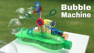 How to Make a Simple Bubble Machine at Home - Easy to Build - Amazing idea