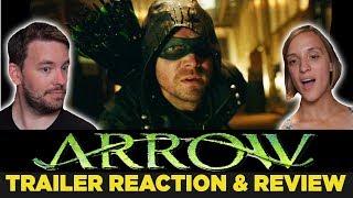 ARROW Season 6 Comic-Con Trailer REACTION & REVIEW!