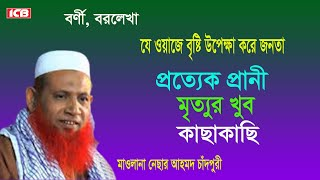 Bangla Waz |মৃত্যুর পরের জিবন |Mowlana Nesar Ahmed Chadpuri | Borni