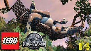 LEGO JURASSIC WORLD Gameplay Walkthrough Part 14 -