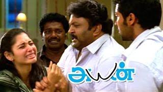 Ayan | Ayan Movie scenes | Surya hits Akashdeep Saighal | Prabhu Advices Surya | Surya gets Arrested