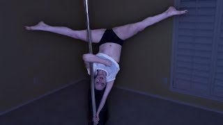 How I Learned To Pole Dance | 20K SUBSCRIBER SPECIAL | RedheadRedemption